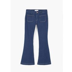 Soldes   9 jeans cool pour être au top cet été - Un jean flare Mango 237c280e2620