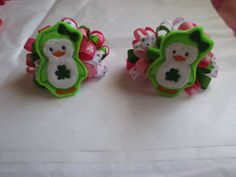 Little Princess Bows * 3'' Bow set * SB:$3.00 *BI:$0.50 *SH:$2.50 * Payment due within 48 hours * Ready to ship * www.facebook.com/littleprincess.bows.girls