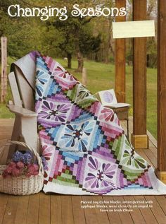 Changing Seasons Quilt Pattern Pieced/Applique LK