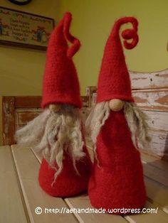 Winter ~ Tomten ~ Wool Felt