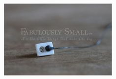 Fabulously Small: Electric outlet with plug