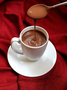 How to make extra-thick hot chocolate