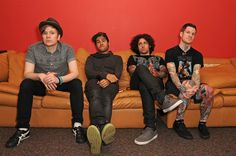 Fall Out Boy. CAN'T WAIT TO SEE THEM IN SEPT!!