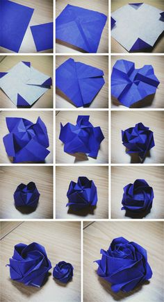 Jul 2019 - Free Printable Origami Rose If you haven't folded any origami example earlier, welcome to the fun of folding origami rose flower. Origami Design, Instruções Origami, Origami Ball, Paper Crafts Origami, Useful Origami, Origami Envelope, Oragami, Origami Tutorial, Origami Instructions