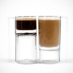 An espresso glass for those who want a shot and a chaser. | 21 Products For Coffee Lovers That Will Blow Your Caffeine-Loaded Mind