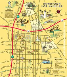 cool los angeles maps