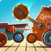CATS: Crash Arena Turbo Stars APK Action Games     The description of CATS: Crash Arena Turbo Stars  From the creators of the hit games Cut the Rope and King of Thieves comes the most ingenious and stylish battle bot constructor! Build a war machine from collected parts and unleash its power against other players in automatic PvP combat! Fight your way up from backyards to the World Championship. Win new parts and use them to design an unbeatable fighting robot. Make every opponent bite the…