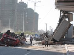Bridge Collapse in China Contributes to GDP