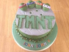 Teenage Mutant Ninja Turtles Cake!