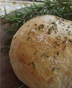 rosemary foccia bread