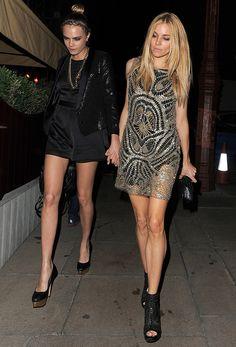 Cara and Sienna