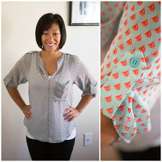 Dear Stitch Fix Stylist, This top is adorable! Love the color and the print! Any chance it's still in stock? ~Michelle