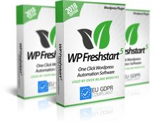 WP Freshstart 5 – Have you tried setting up a new WordPress site? I know what you are thinking cause it is, in fact, the most tedious work to do. Seo Marketing, Content Marketing, Affiliate Marketing, Internet Marketing, Online Marketing, Digital Marketing, Marketing Software, Make Money Online, How To Make Money
