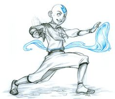 Image result for avatar the last airbender sketch