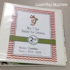 How are you going to put students in charge of their learning this year? Consider the I Can Binder for Literacy! Watch these videos to learn more!