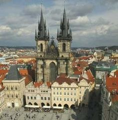 Prague, Czech Republic by wteresa