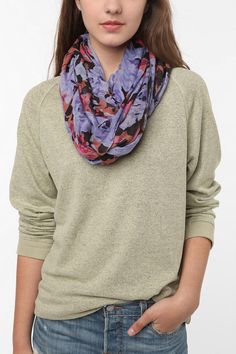 Give me ALL the infinity scarves.