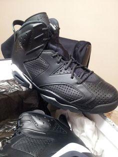 adda9653ef6bde NIKE AIR JORDAN 6 VI RETRO BLACK CAT Size 11  fashion  clothing  shoes