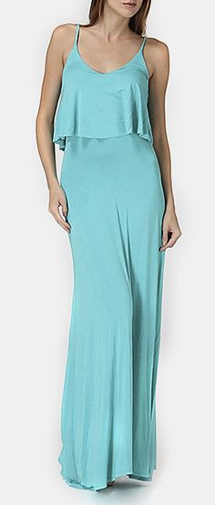 Jade Camisole Maxi Dress
