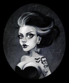 Modern Bride of Frankenstein