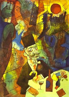 George Grosz, «The White Slave Trader», 1918