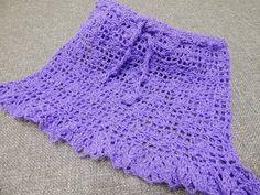 Falda para Niña Crochet - YouTube