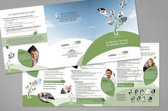Création d'une brochure pour présenter les services du service Carrière destinés aux diplômés de SKEMA, Service, Communication, Creations, Map, Location Map, Maps, Communication Illustrations