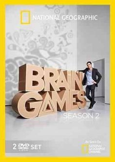 Brain Games season 2 ---- Interactive games and intricate experiments designed to leave viewers rethinking how much faith they are willing to put in everything from memory to multitasking. Host Jason Silva and Deception Specialist Apollo Robbins are teaming up with some of the world's foremost neuroscientists to reveal the incredible inner-workings of the brain. (DVD)