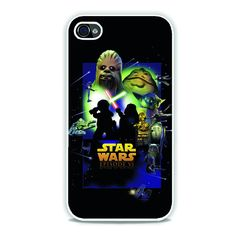 Lego Star Wars Movie Poster Episode 6 iPhone 4, 4s Case