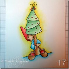 Whiff of Joy - Tutorials & Inspiration: Combining Coloring Mediums: Copic Markers & Prismacolor Pencils by Jeanette