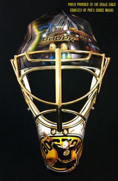 Best Goalie Mask - Boston Bruins
