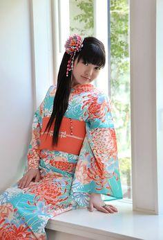 pretty YUKATA    summer kimono of JAPAN