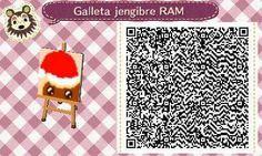 Este es un QR Code para Animal Crossing, creado por mí; como podéis observar, es un camino que tiene como estampado una galleta de jengibre. [1-9]  Lo podéis encontrar en mi canal de YouTube: https://www.youtube.com/channel/UCh6uwa2CjSgR4WQ-ghRQY6Q (Roxy).  ¡Espero qué os guste! ;)
