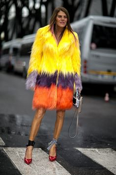 Pin for Later: The Best Street Style Looks From Milan Fashion Week Day 6 Anna Dello Russo