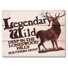 Daydream Legendary Wild Hunt Indoor/Outdoor Wall Art - WLWH1511