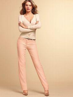 The Sofie Straight Leg Pant in Crepe #VictoriasSecret http://www.victoriassecret.com/clothing/dress-pants/the-sofie-straight-leg-pant-in-crepe?ProductID=100384=OLS?cm_mmc=pinterest-_-product-_-x-_-x