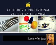 Chef Proven 2n1 Professional Zester Grater Review and Video.  Rated #1 with professional chefs.