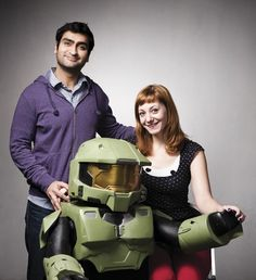 Emily V. Gordon and Kumail Nanjiani: Nerds of a Feather - love these two, and their X-Files Files podcast.