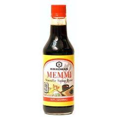 Kikkoman Memmi Noodle Soup Base (Pack of 4)