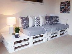51 Cheap DIY Pallet Ideas for Small Homes - # DIY Furniture, # DIY Furniture Ideas . - 51 cheap DIY pallet ideas for small home – # diy furniture, # slide furniture # - Small House Diy, Tiny House, Sofa Design, Interior Design, Pallet Patio Furniture, Furniture Ideas, Antique Furniture, Cheap Furniture, Rustic Furniture