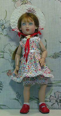 Bethany Kish doll - handmade dress