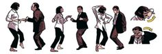 travolta dance pulp fiction - Google-haku