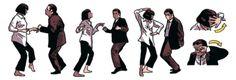 travolta dance pulp fiction - Google-haku