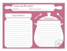 120 ideias de Recipe cards | caderno de receitas, cartões de receita, cartões de receitas