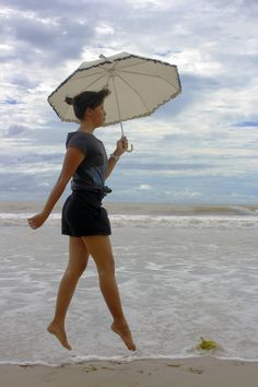 walking in the air  Sawarna, Banten - Indonesia  Model : Rahne  Taken by : Me  31 December 2011