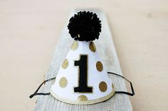 Mr. Onederful First Birthday Party Hat Boys 1st by LaLaLolaShop