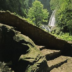 Parco di Villa Gregoriana, Tivoli, Italy
