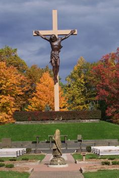 Cross in the Woods National Shrine, Indian River, MI