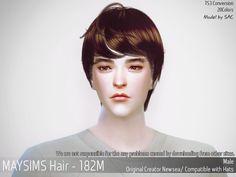 메이 아이템 - May_TS4_Hair182M