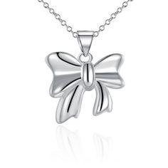 Милый бант кулон ожерелье цепь ключицы для женщины SMTN619купить в…